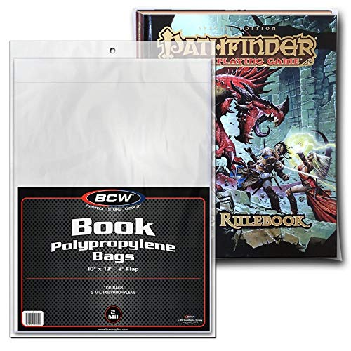 (BCW Clear Book Bags 10