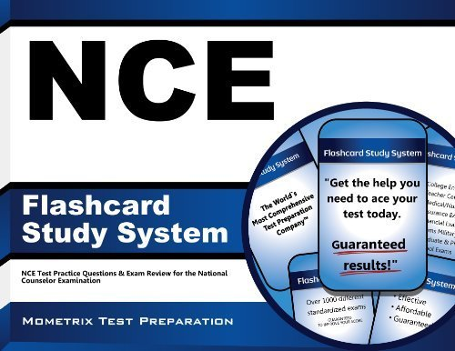 NCE Flashcard Study System: NCE Test Practice Questions & Exam Review for the National Counselor Examination (Cards) Flc Crds/P by NCE Exam Secrets Test Prep Team (2013) Paperback