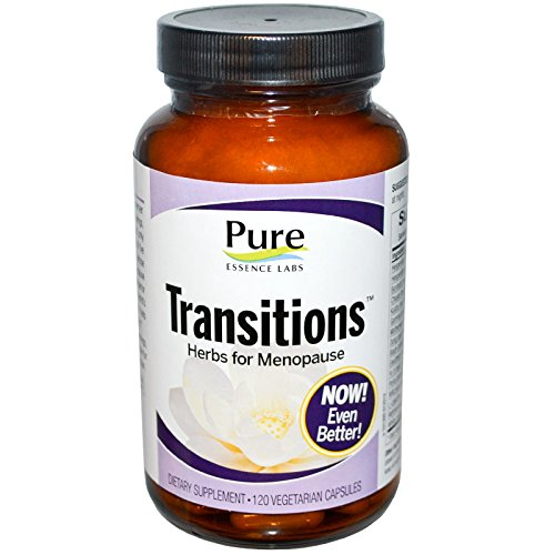 Pure Essence, Transitions, Herbs for Menopause, 120 Veggie Caps - 2pc by Pure Essence