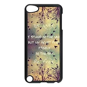 Be Free Birds Quote Protective Hard PC Back Fits For Case Iphone 6 4.7inch Cover