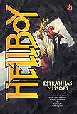 capa de Hellboy. Estranhas Missões