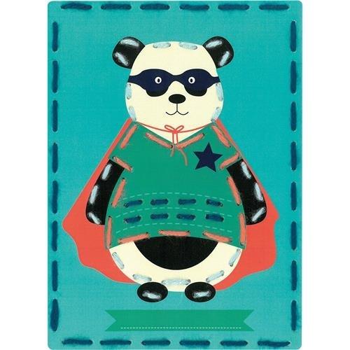 Vervaco Kits 4 Kids Circus Pandas Embroidery Cards Kit