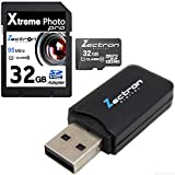 Zectron 32GB for Lexibook Spider-Man DJ050SP digital Camera Camcorder Video 32GB Micro Class 10 SD SDHC High Speed Zectron Digital Camera Memory Card with free micro card USB card reader