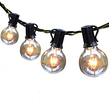 Guddl Outdoor String Lights 25ft Patio Lights