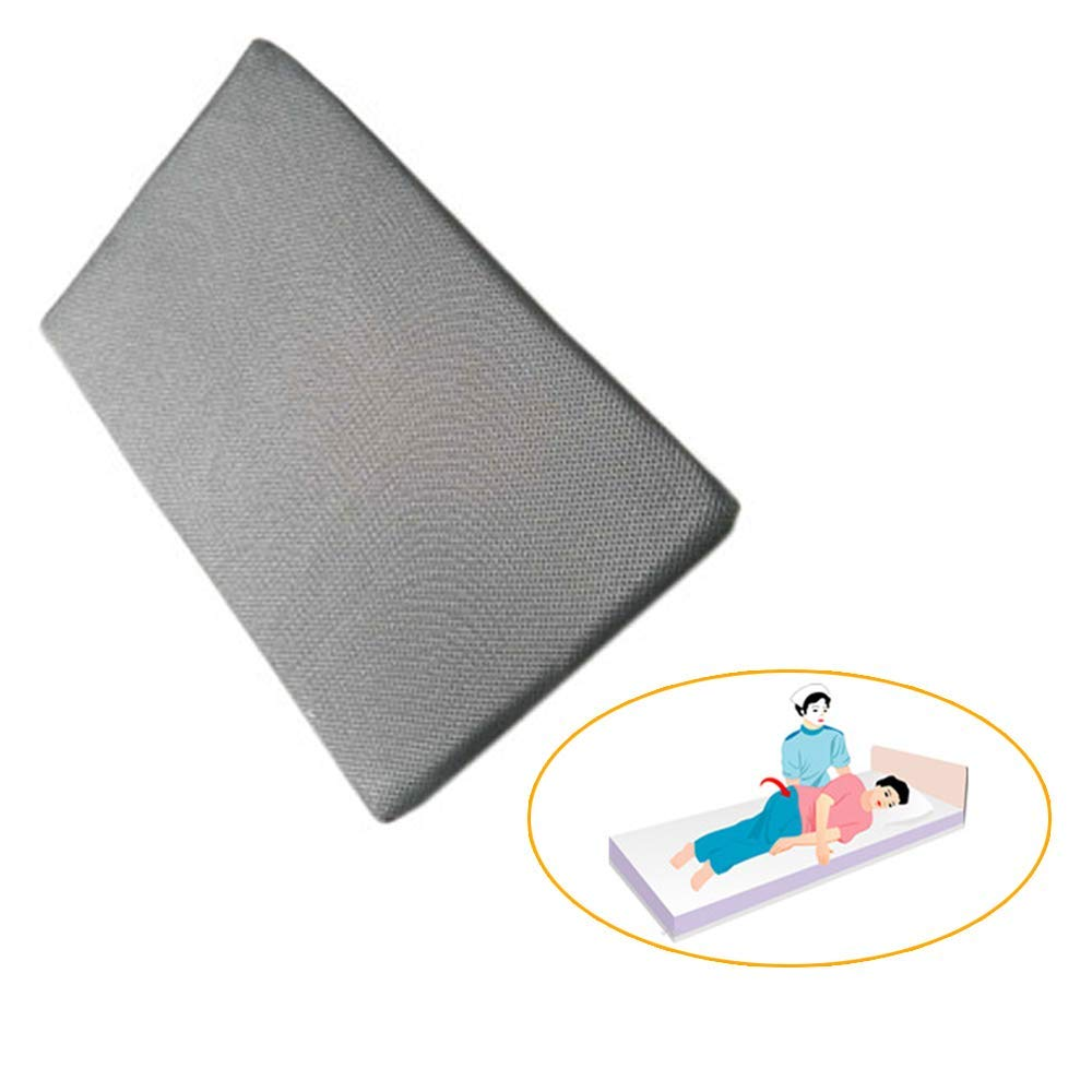 Bed Wedge Pillow Support Cushion - Back, Leg and Knee Prop Up - Ideal for Reading, also Helps with Acid Reflux (Patented product)
