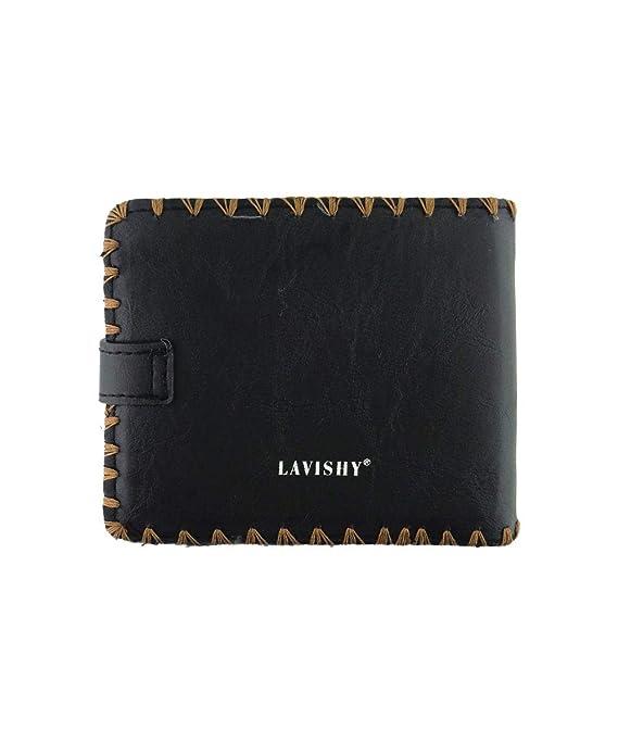 Amazon.com: LAVISHY - Cartera de piel sintética con diseño ...