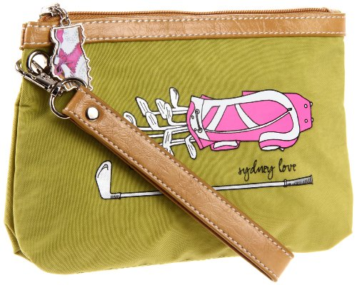 sydney-love-green-golf-wristletgreenone-size