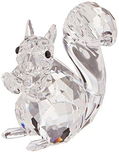Swarovski Crystal Christmas Figurines - Swarovski Squirrel, Clear