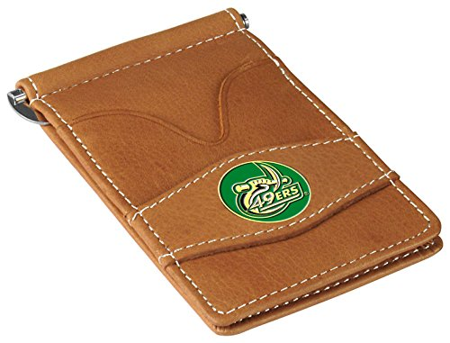NCAA North Carolina Charlotte 49ers - Players Wallet - Tan