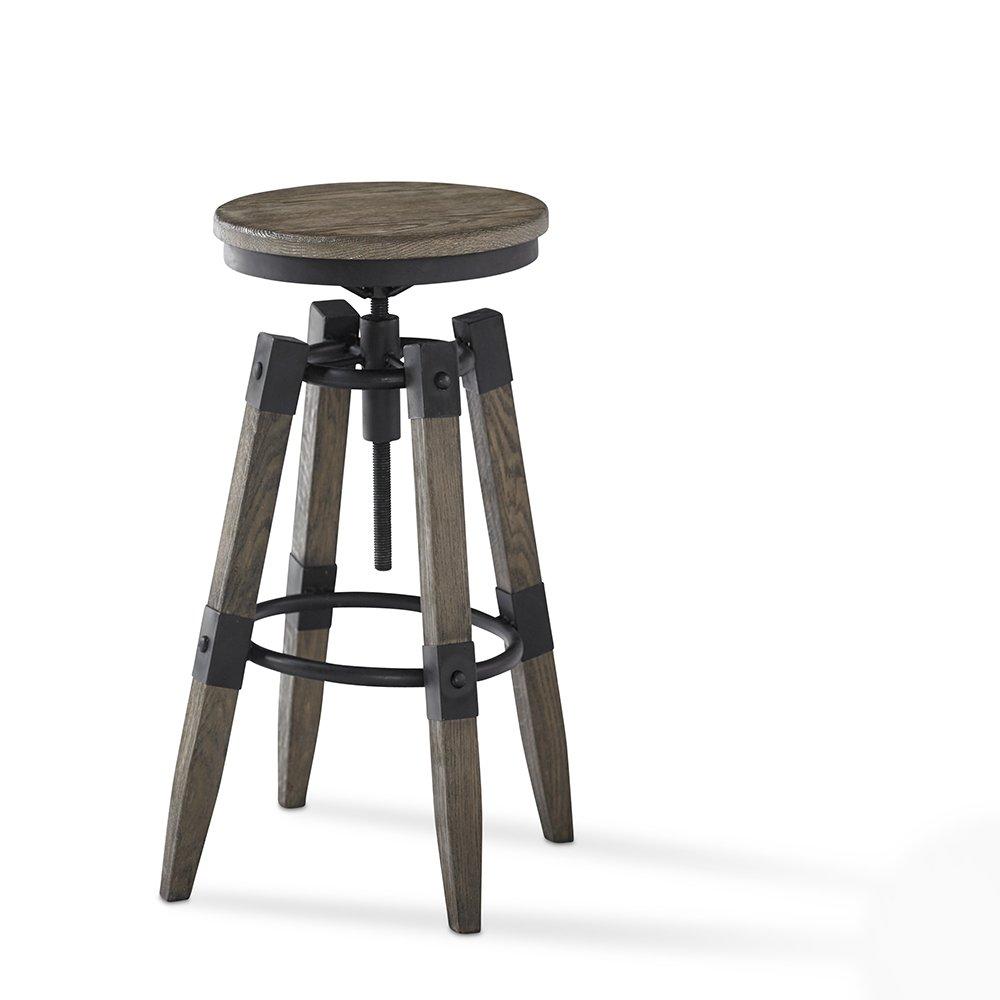 Outstanding Amazon Com Plank And Hide Colton Adjustable Pub Height Bar Machost Co Dining Chair Design Ideas Machostcouk