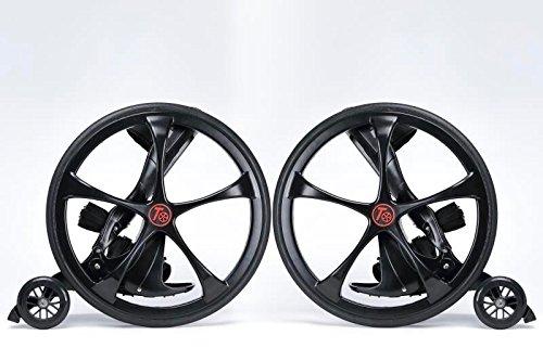 ike Wheel Inline Roller Blade Skates (Black) ()