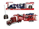 Continental Powerful Semi Truck Carrier R/C Light(color may vary)