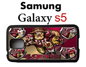 NFL San Francisco 49ers Samsung Galaxy s5 Case Hard Silicone Case