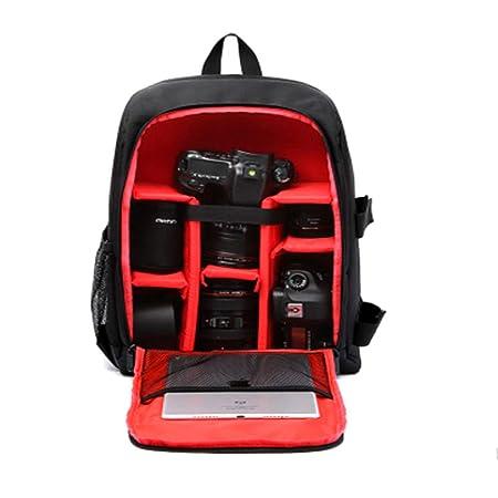 CHNG Mochila Impermeable Multifuncional para cámara réflex Digital ...