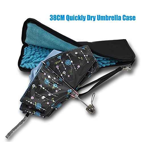 ptivity & Quick Dry Umbrella Case 38CM for Umbrella, Dural Layer Waterproof Material Umbrella Case/Umbrella Holder/Umbrella Bag in Rainy (Umbrella Case)
