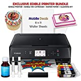 Best Edible Printers - Mobile Deals Edible Birthday Cake Topper and Tasty Review