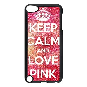 ALICASE Design Phone Case Love Pink For Ipod Touch 5 [Pattern-1]