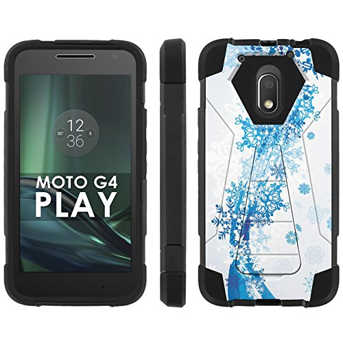 Motorola Moto G Play [4th Gen] Phone Cover, Chill Frozen - Black Hexo Hybrid Armor Phone Case for Motorola Moto G Play [4th Gen]