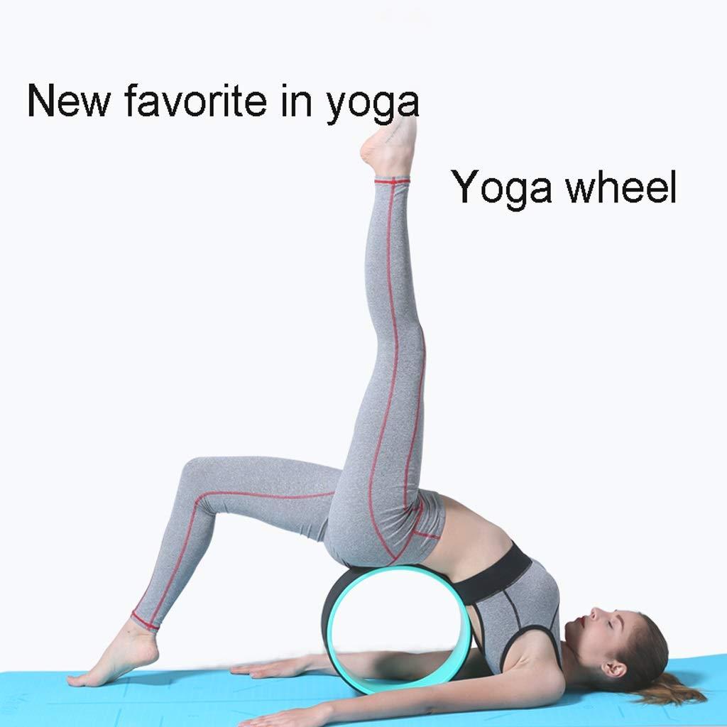 Rueda De Yoga, Estiramiento Y Equilibrio De Posturas De Yoga ...