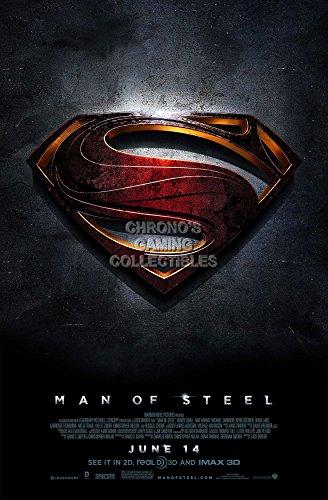 CGC Huge Poster - Dc Man of Steel Superman Movie