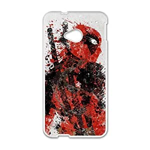 Deadpool White HTC M7 case by icecream design
