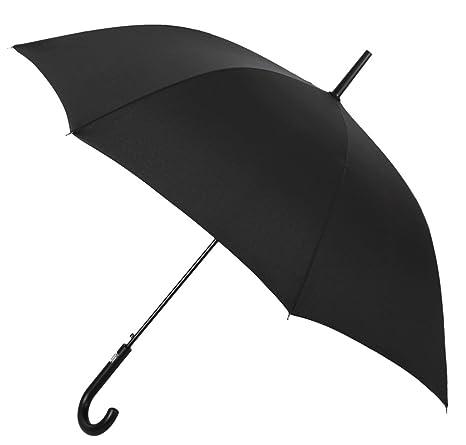 Si te gustan los clásicos atemporales, este paraguas básico largo de hombre es el que