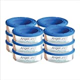 12 X Angelcare Nappy Disposal System Refill Cassettes Wrappers Bags Sacks Pack Best Quality Fast Shipping Ship Worldwide