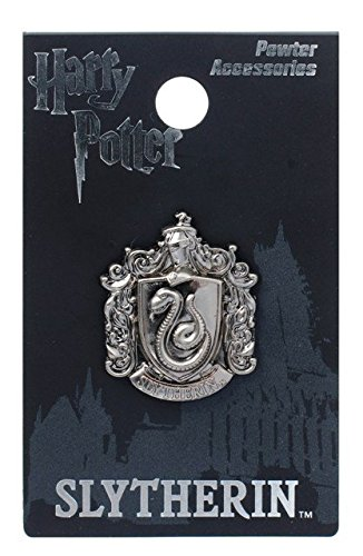 Completely new Amazon.com: Harry Potter Slytherin School Crest Pewter Lapel Pin  ZP58