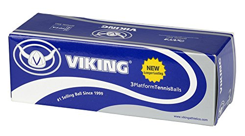 Viking Extra Duty Yellow Platform Tennis Balls (Sleeve of 3) -