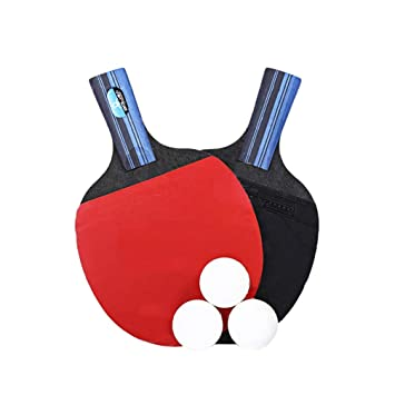 LIOOBO Juego de Raquetas de Ping Pong de Padel de 2 Piezas ...