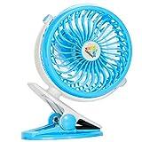 Best Fan For Strollers - CALOVER Desk Fan Clip-on Stroller Fan, 2600mAh Rechargeable Review
