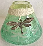 yankee candle jar topper - Yankee Candle Large Dragonfly Jar Shade Candle Topper