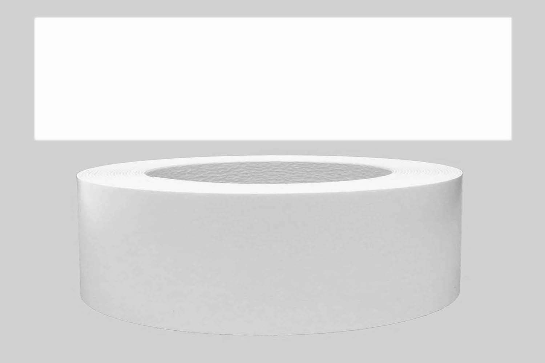Mprofi MT® (5m rollo) Cantoneras laminadas melamina para rebordes con Greve Blanco Liso Mate 45 mm