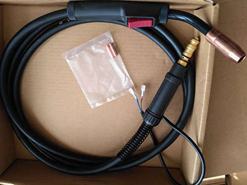 MIG WELDING GUN &TORCH 15' 180AMP replacement for LINCOLN...