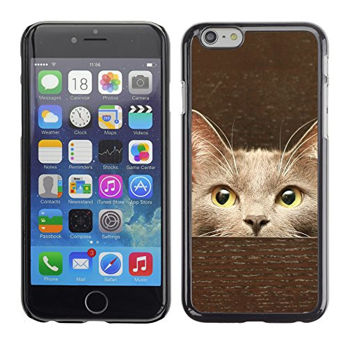 Premio Sottile Slim Cassa Custodia Case Cover Shell // V00003098 chat dans un tiroir // Apple iPhone 6 6S 6G PLUS 5.5""
