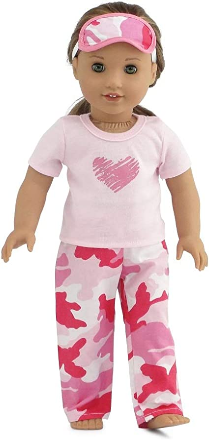 """Doll Clothes Pajames Shoes for 18/"""" American Girl Our Generation My Life Doll"""