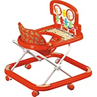 Asha Products Baby Walker with Adjustable Height and Toys