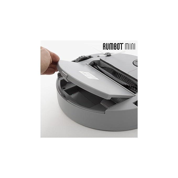 Omnidomo-RumBot Mini-Robot Aspirador Inteligente, Cepillo Lateral 360º, Batería Recargable, Depósito 500 ml, 100 min: Amazon.es: Hogar