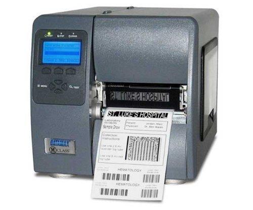 (Datamax KD2-00-08000Y00 M-Class Direct Thermal Printer 203 DPI8MB Flash Internal LAN Card, Monochrome, 110 V AC/220 V AC)