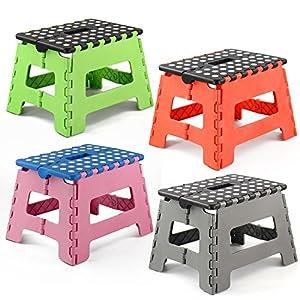 Asab Folding Step Stool Plastic Small 150 Kg Capacity