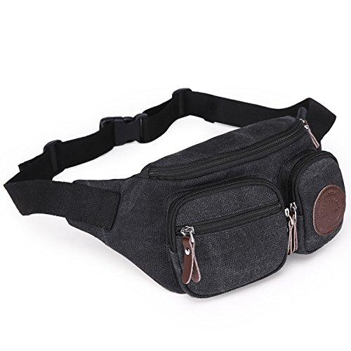 Multi-funktionale Brust Tasche Herren casual Mode Leinenbeutel