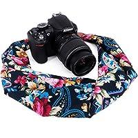 Wolven Soft Scarf Camera Neck Shoulder Strap Belt for Nikon/Canon/Sony/Olympus/Pentax/DSLR