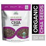 Eternae By Nature Organic Raw Chia Seeds, 32 Oz