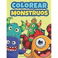Colorear Monstruos: Libro de Colorear para Niños