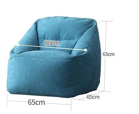 Bean Bag Sillas para Adolescentes Lazy Sofá Cama Interior De ...