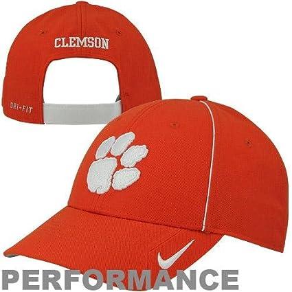 a20339656de17 Amazon.com   NIKE Clemson Tigers Legacy 91 Coaches Sideline Adjustable  Dri-FIT Cap Hat - Orange   Sports Fan Apparel   Sports   Outdoors