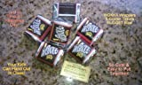 willy wonka chocolate bar - (30) NUGGET SIZED-WILLY WONKA CHOCOLATE BAR WRAPPERS & GOLDEN TICKETS-no chocolate included