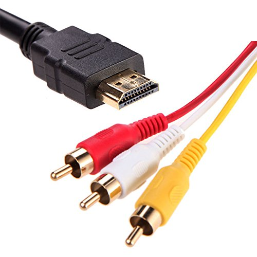 1.5m HDMI Cable Gold-Plated V1.4 Adapter Converter - 3
