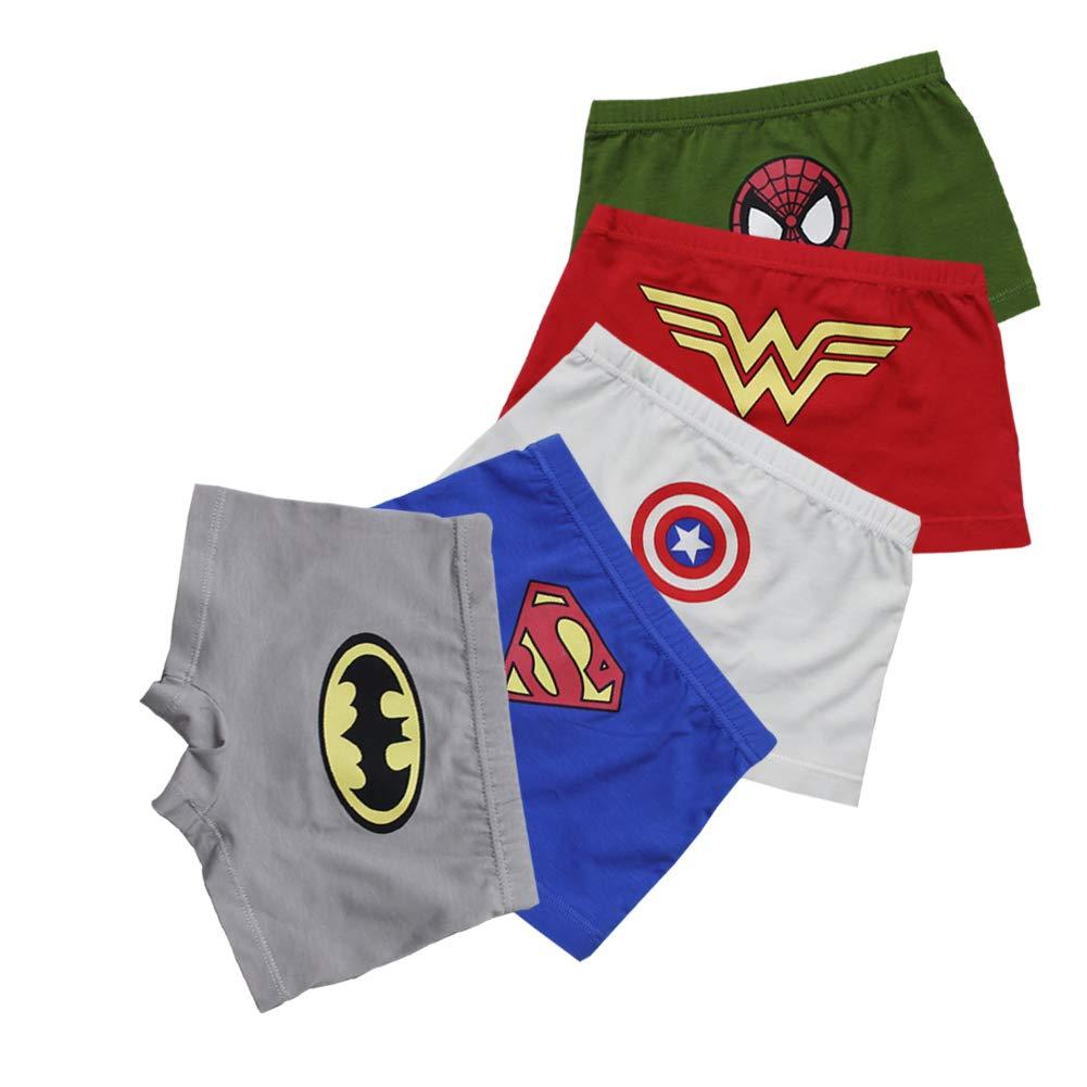 Toddler Boy Boxer Briefs FORUSKY 5 Pack Big Boys Soft Breathable Little Kids Underwear