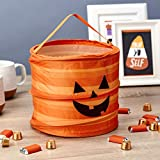 Hallmark Large Halloween Gift Bag, Trick or Treat Bag (Pop Up Jack-o-Lantern)